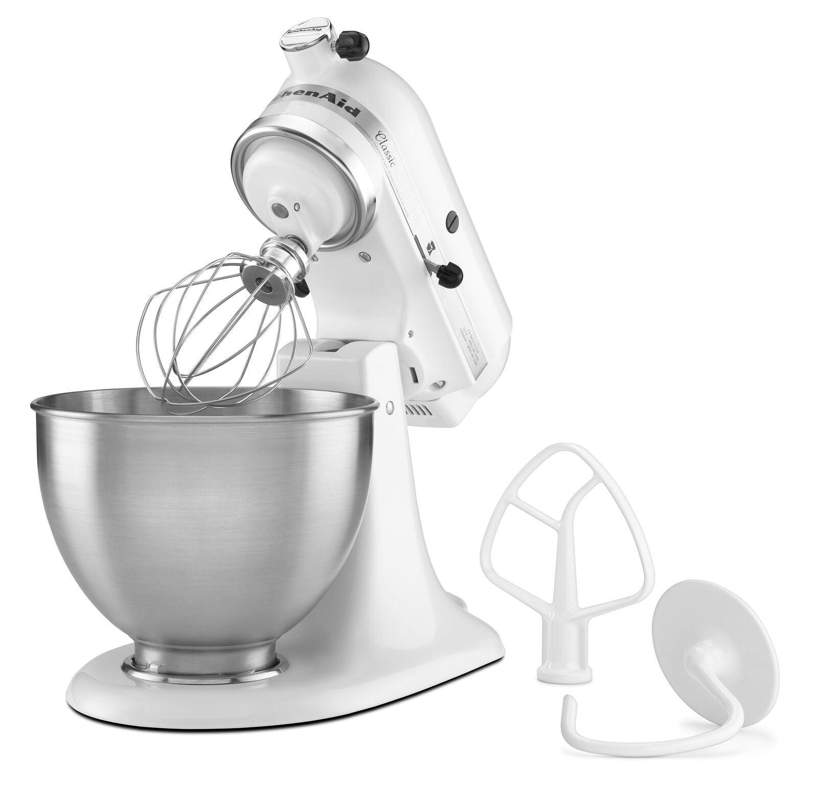 Kitchen Aid Walmart | Kitchenaid Classic Series 4 5 Quart Tilt Head Stand Mixer White