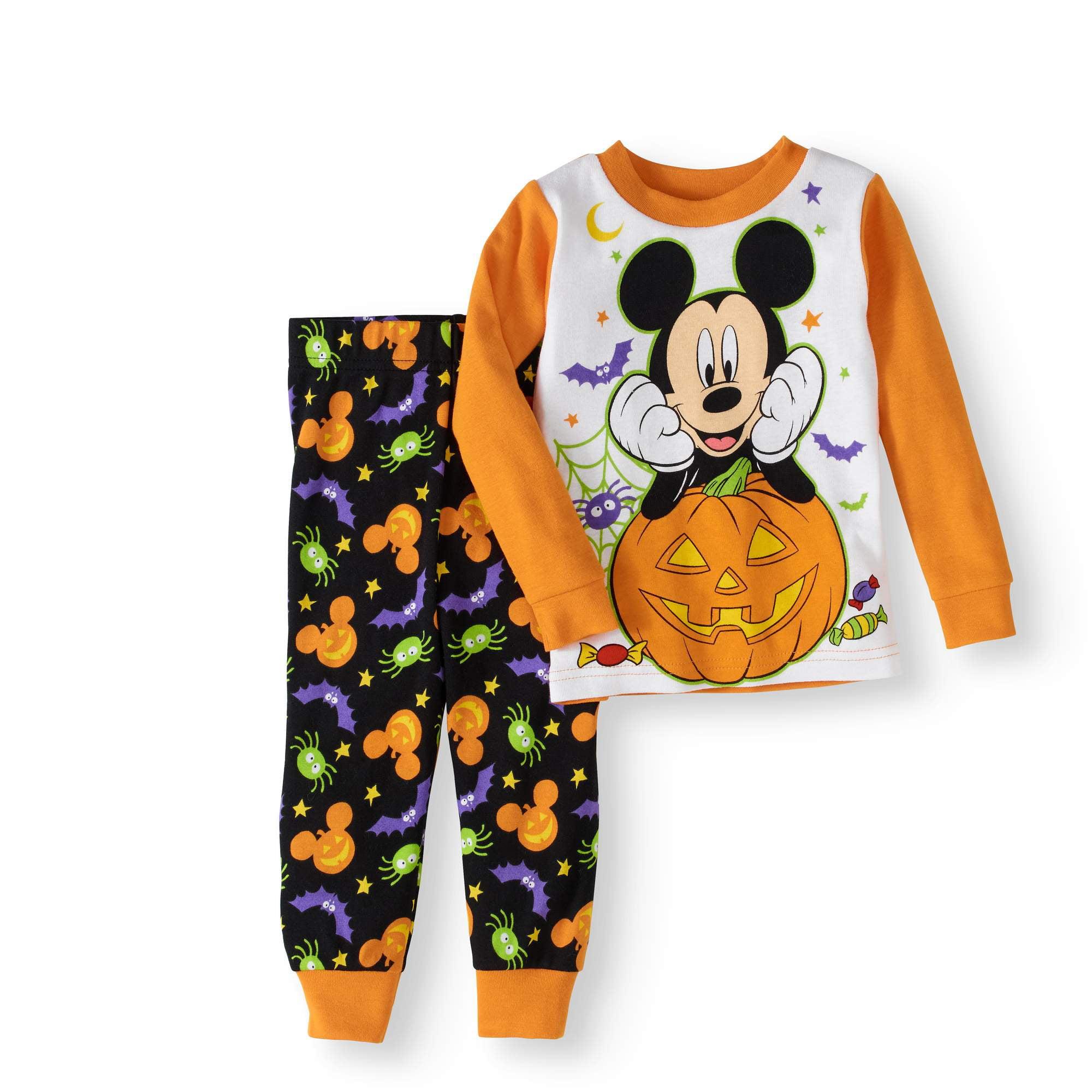 Halloween Newborn Baby Boy Cotton Tight Fit Pajamas 2pc Set