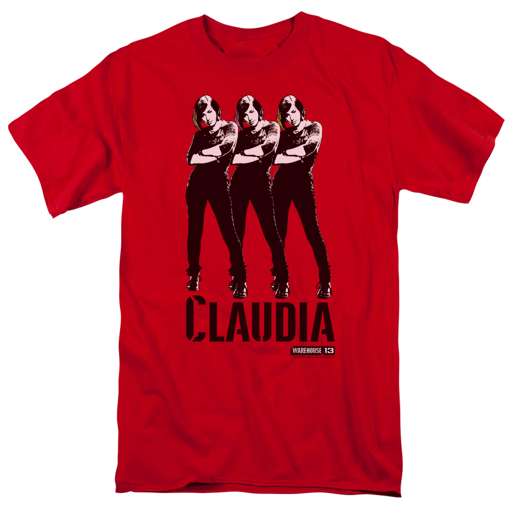 WAREHOUSE 13/CLAUDIA - S/S ADULT 18/1 - RED - MD
