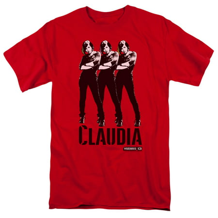 Warehouse 13 Claudia   S S Adult 18 1   Red   Xl