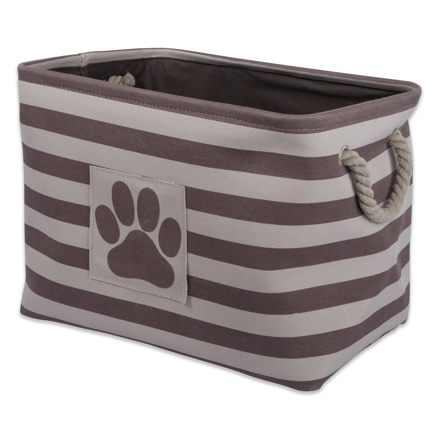 DII Bone Dry Pet Toy And Accessory Storage Bin, Collapsible Organizer  Storage Basket For Home
