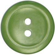 Slimline Buttons Series 1-Lime 2-Hole 3/4 5/Card Multi-Colored