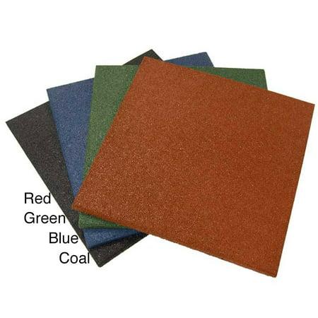 Rubber Cal Rubber Cal Eco Sport 1 Inch Interlocking Flooring Tiles