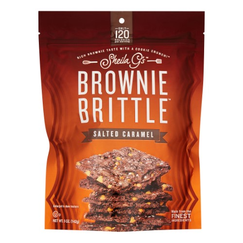 Brownie Brittle salted caramel (Pack of 10)