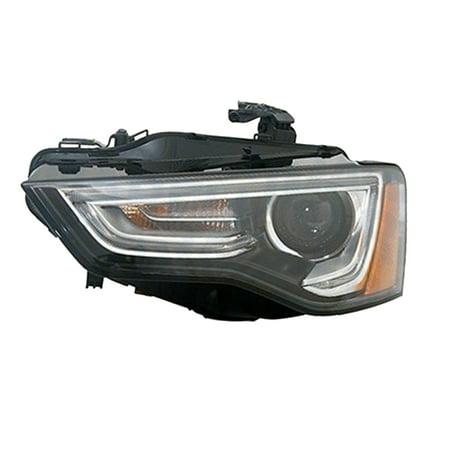 AU2502181 Left Headlamp Assembly Composite for Audi A4, A5, S4,