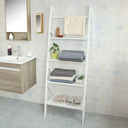 So Ladder Shelf Coat Rack Storage Displayshelving Bathroom Display Shelving Bookcase