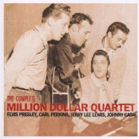 Complete Million Dollar Quartet (CD) (Remaster) Stamps Quartet Music