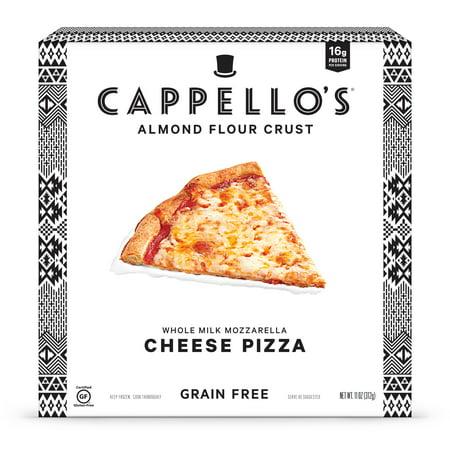 Cappellos Almond Flour Whole Milk Mozzarella Cheese Pizza, 11oz