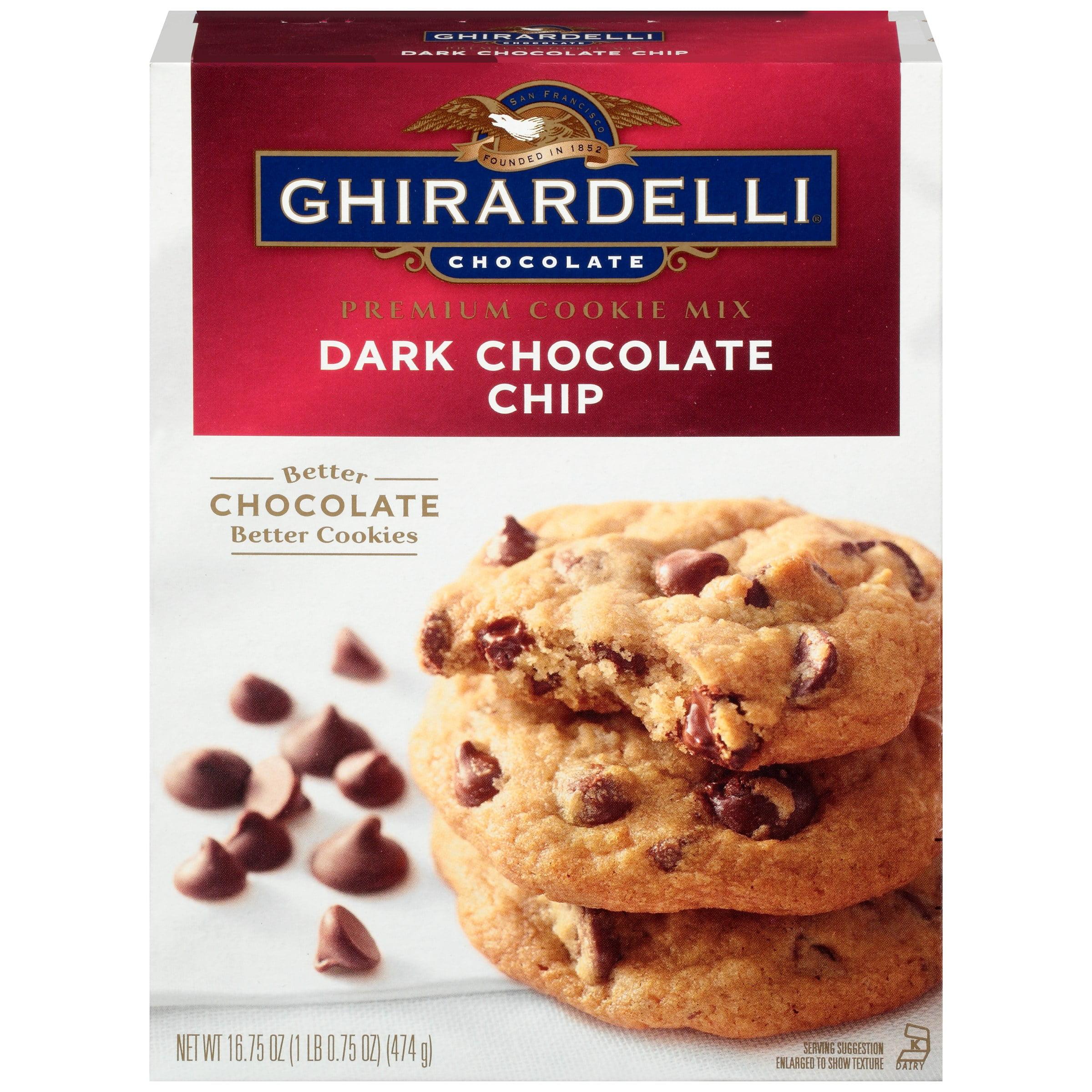 Ghirardelli Dark Chocolate Chip Cookie Mix Instructions