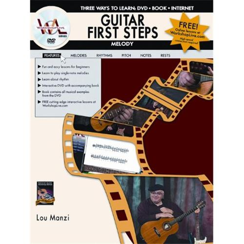 Alfred Guitar First Steps Melody (Book and DVD)