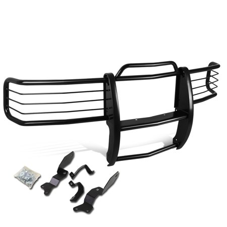 - For 01-07 Silverado 1500-3500 HD Front Bumper Protector Brush Grille Guard (Black) 02 03 04 05 06