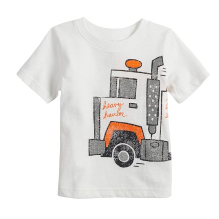 046e7f778 Baby Boy Jumping Beans Tow Truck Graphic Tee - Walmart.com