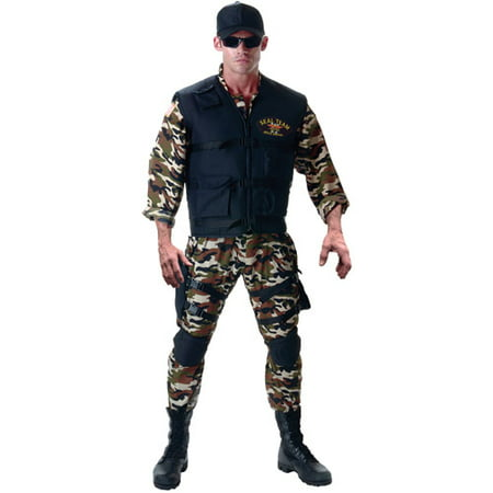 Deluxe Seal Team Halloween Costume
