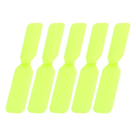 5pcs RC Airplane DIY Assembly Plastic Motor CCW Propeller Prop - Remote Control Flying Halloween Props