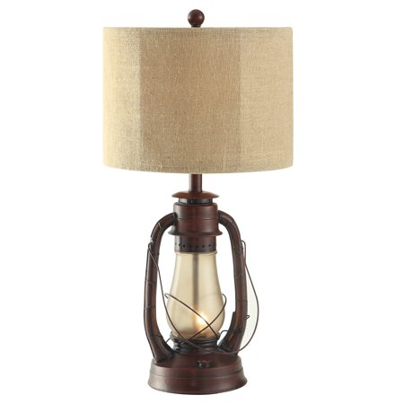 Lauren 28-Inch Table Lamp, Rustic Red