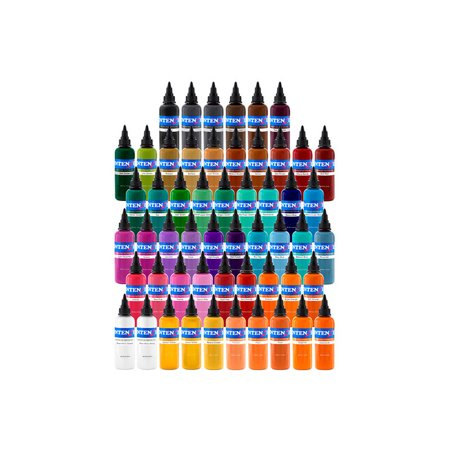 Intenze 54 Color Tattoo Ink Set - Walmart.com