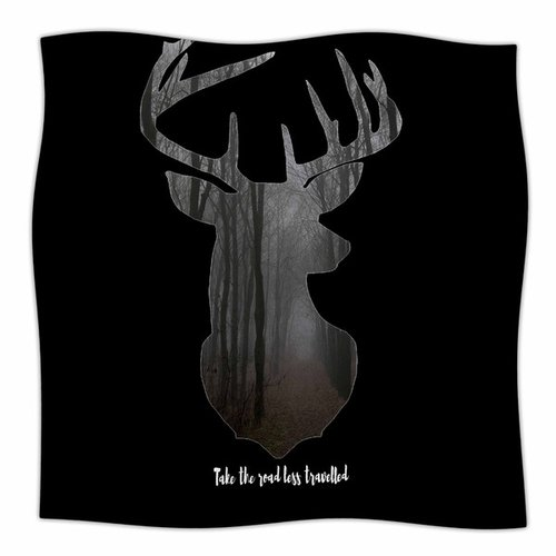 East Urban Home The Road by Suzanne Carter Fleece Blanket