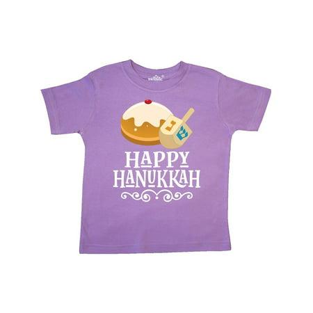 (Happy Hanukkah Dreidel Toddler T-Shirt)