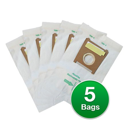EnviroCare Replacement Vacuum Bags for Bosch Formula Electro Duo Plus Hepa BSG71370UC Vacuums (Formula Electro Duo)