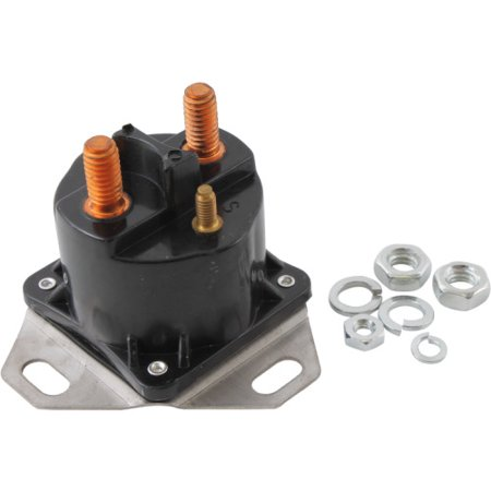 DB Electrical SFD6009 STARTER SOLENOID RELAY 12 Volt for FORD 3-TERMINAL /E5TZ-11450-A, E7TZ-11450-B, E9TZ-11450-A, E9TZ-11450-B, SW1951, SW1951A, SW1951B, SW1951C / 15-437, (Ford Electrical Parts)
