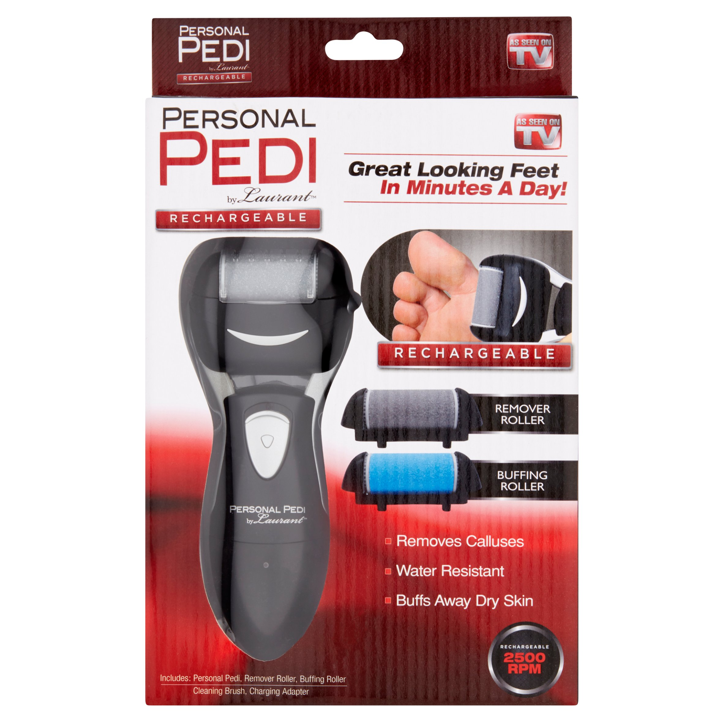 Personal Pedi by Laurant Rechargeable Remover Roller