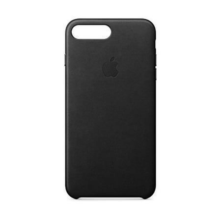 69b411ae23 Apple Leather Case for iPhone 8 Plus & iPhone 7 Plus - Black - Walmart.com