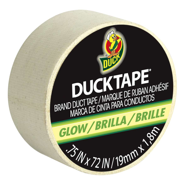 Glow-in-the-Dark Ducklings Mini Duck Tape Rolls - Solid Glow, .75 in. x 72 in.