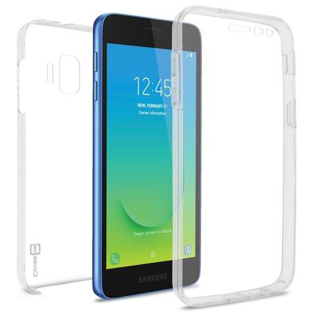 CoverON Samsung Galaxy J2 Core / J2 Pure / J2 Dash Case, SlimGuard Series Slim Fit Premium Full Body Phone Cover - HD Clear ()