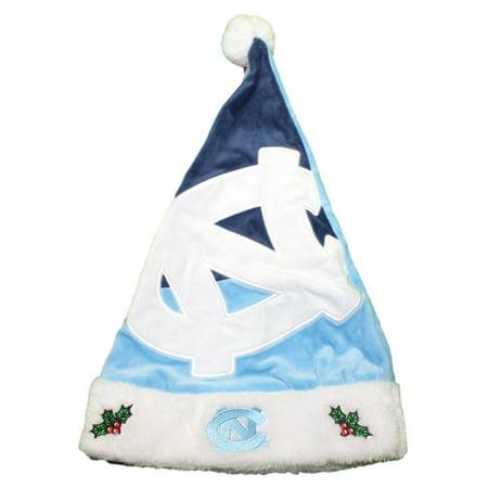 North Carolina Tarheels 2018 NCAA Basic Logo Plush Christmas Santa Hat -  Walmart.com 2d24cc87b