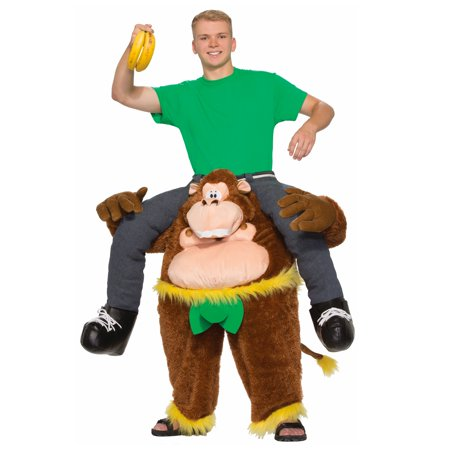 Monkeyin' Around Pull-On Pants Men's Adult Halloween Costume, One Size - Mens Pleather Pants Halloween Costume