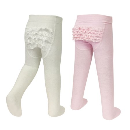 (Wrapables® Cotton Rhumba Tights for Baby Toddlers (Set of 2), 18-24 Mos)