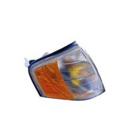 (Compatible 1997 - 2000 Mercedes Benz C230 Parking + Signal Light Assembly / Lens Cover - Right (Passenger) 202 820 12 43 MB2521101 Replacement For Mercedes-Benz C230)