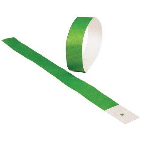US TOY C18-10 Event Wristbands, Green - 100 - Event Wrist Bands