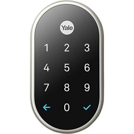 Yale Deadbolt Lock with Nest Connect - (Satin Nickel)