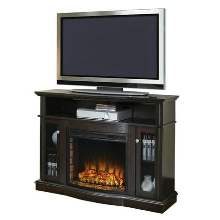 Pleasant Hearth Elliott 48   Media Fireplace   Merlot