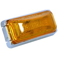 "Blazer International C12536A LED 4"" Sealed Running Board Light, Amber"