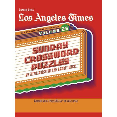 Los Angeles Times Sunday Crossword Puzzles, Volume