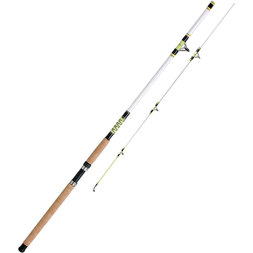 King Hawk Hyper Glow 2-Piece Spin Fishing Rod