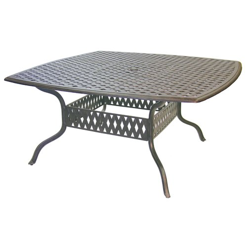 Astoria Grand Mckinney Traditional Square Dining Table