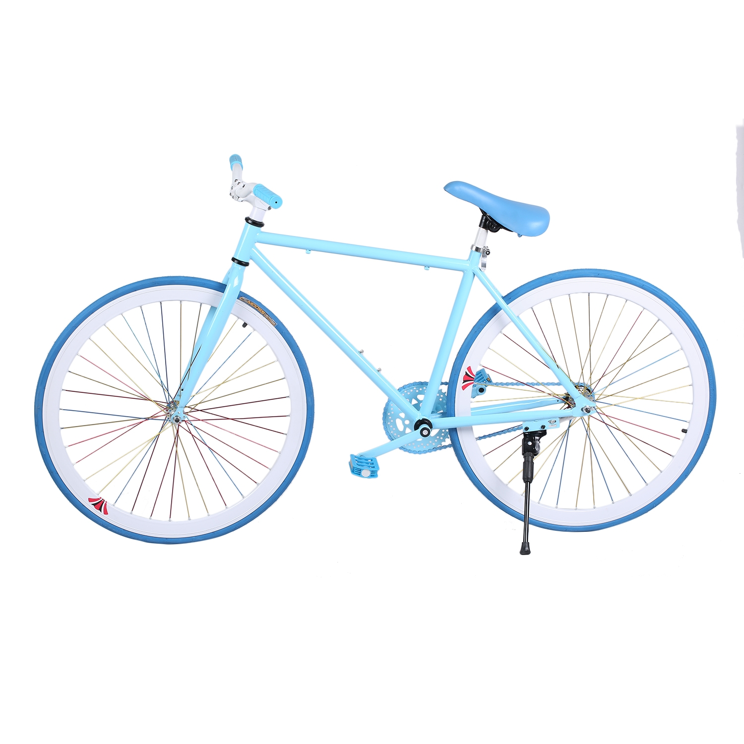 CNMODLE 26 Inch Reverse Brake Bicycle Outdoor Sports Exercise Bike Carbon Steel Frame Complete Cycling Road Bike