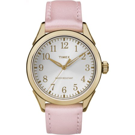 Women's Briarwood Terrace Gold Leather Dress Watch TW2P99100