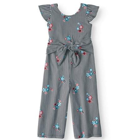Tie Front Jumpsuit (Little Girls, Big Girls & Big Girls Plus) - Mechanic Jumpsuit