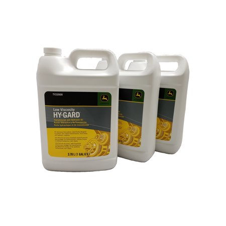 John Deere Original Equipment (3) Gallons of Hy-Gard Transmission & Hydraulic Oil #. (John Deere Low Viscosity Hy Gard J20d Equivalent)