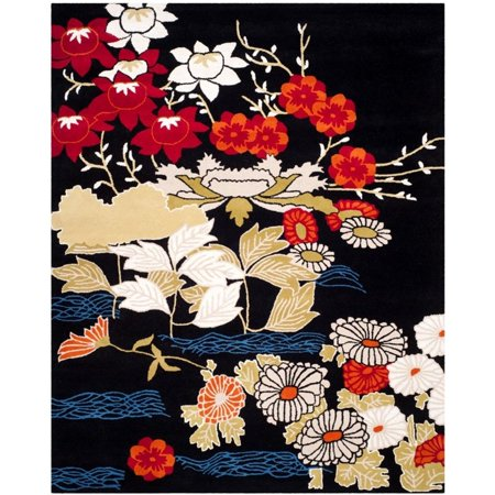 Safavieh Bella 8' X 10' Hand Tufted Wool Pile Rug in Black - image 3 de 3