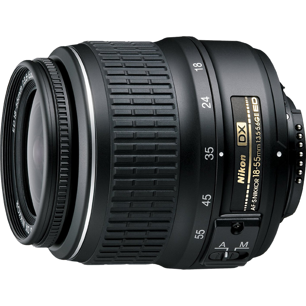 Nikon 18-55mm f/3.5-5.6G ED II AF-S DX Nikkor Zoom Lens Factory Refurbished