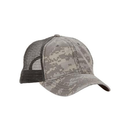 2958df6c GEORGE - George Men's Camo Baseball Hat with Mesh Back Panel and Plastic  Snap Closure - Walmart.com