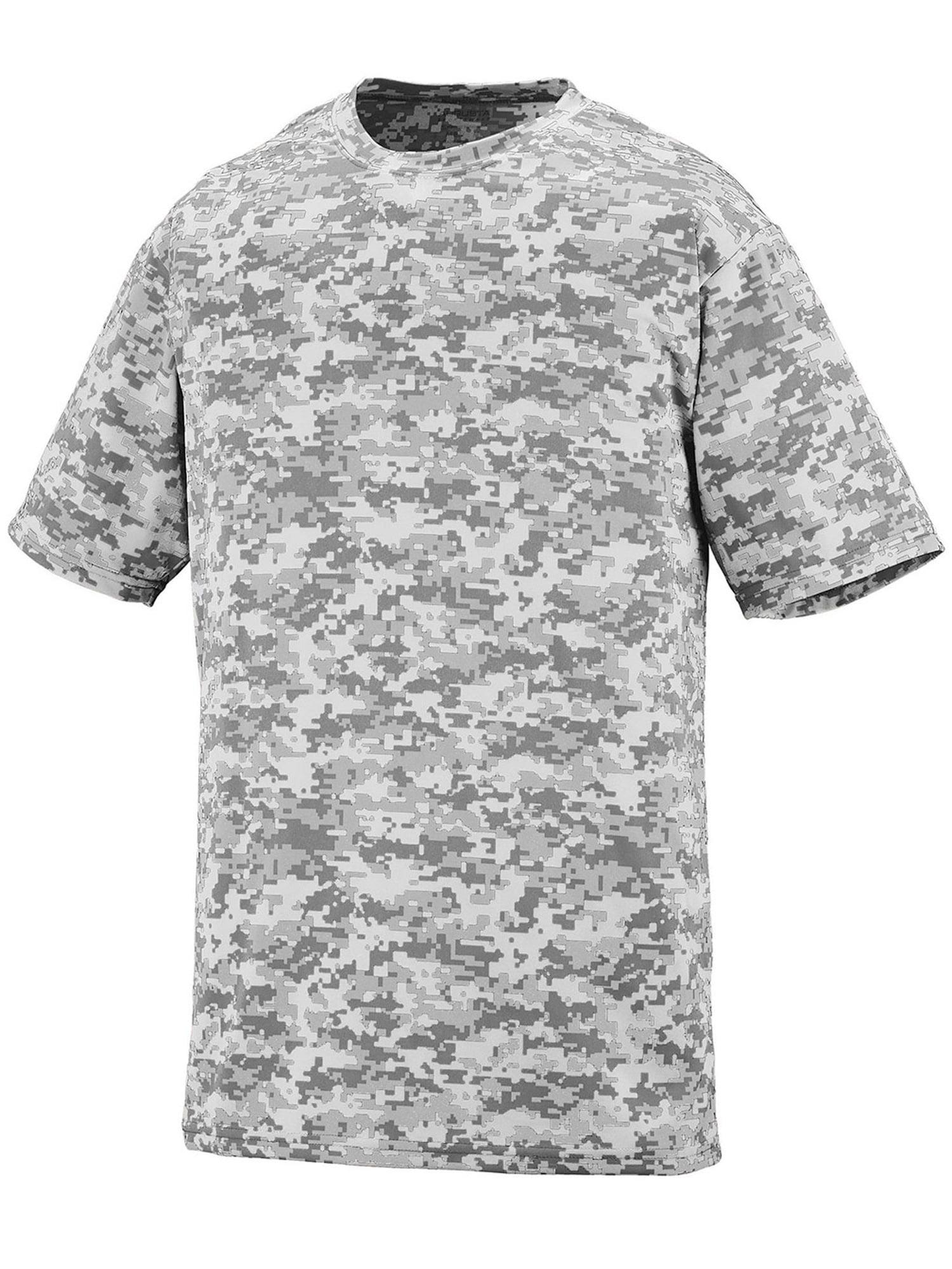 Augusta Men's Digi Camo Wicking T-Shirt, Style 1798A