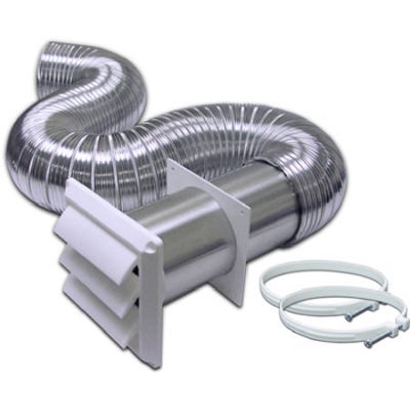 Duct Mount Kit - Complete Flexible Duct Dryer Vent Kit, Aluminum, 4