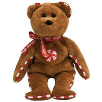 TY Beanie Baby - PEPPERMINT the Bear (Hallmark Gold Crown Exclusive) (8.5 inch) Rare!
