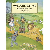 Wizard of Oz Sticker Picture : With 27 Reusable Peel-And-Apply Stickers